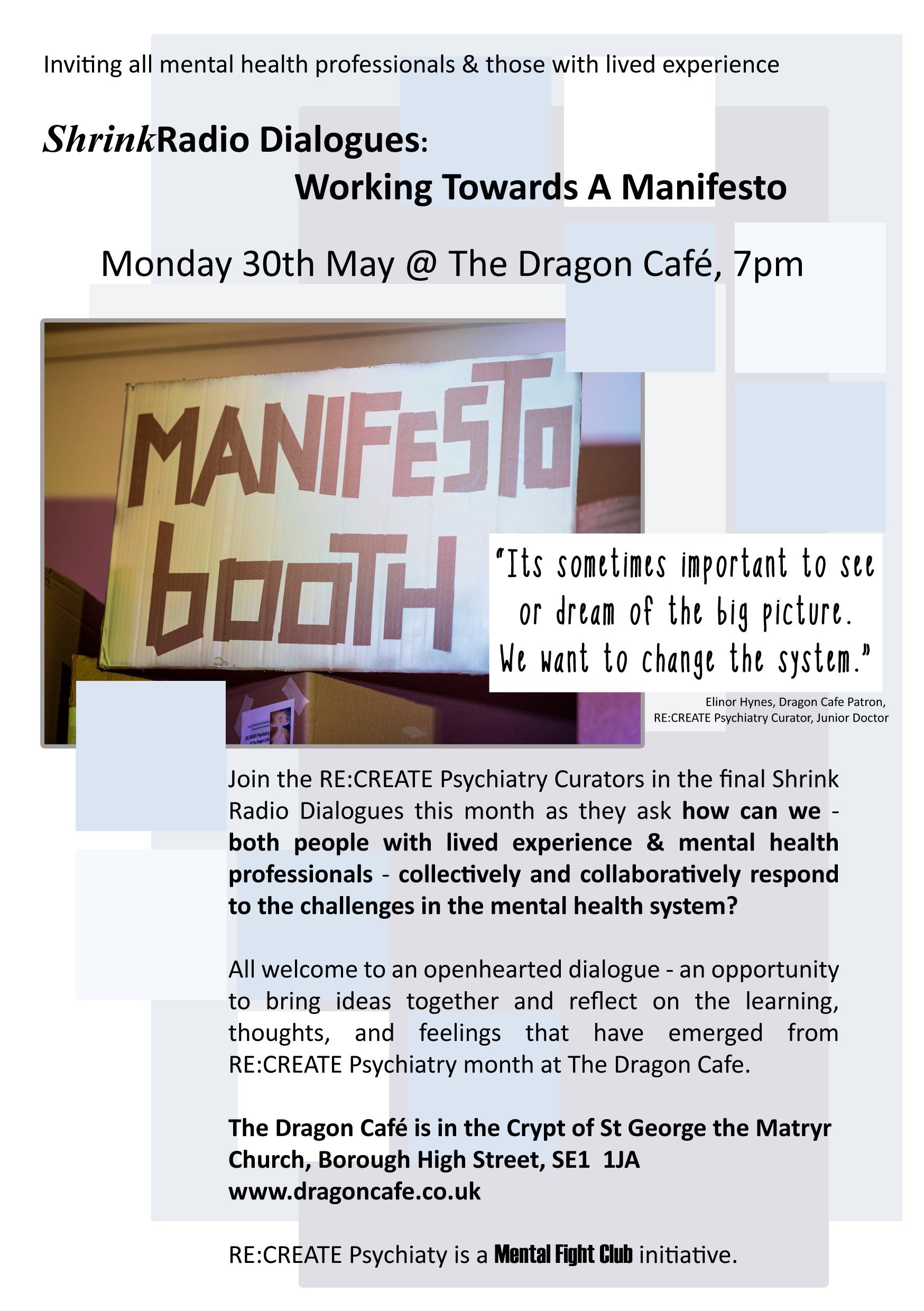 recp the dragon cafe u2013 re create psychiatry